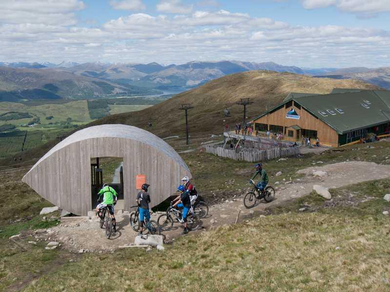 Fahrradtour durch Schottland